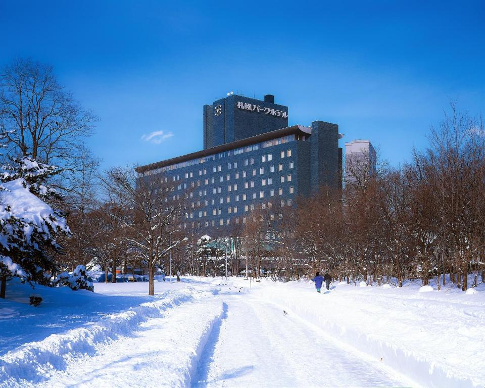 Sapporo Park Hotel during the winter