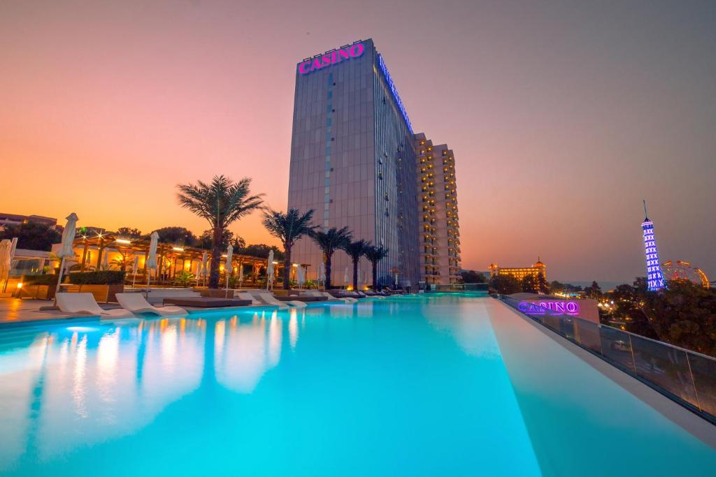 The swimming pool at or near International Hotel Casino & Tower Suites