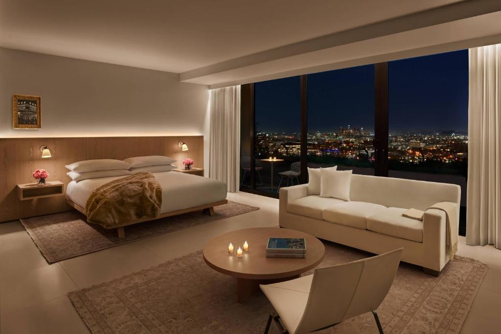 A room at The West Hollywood EDITION.