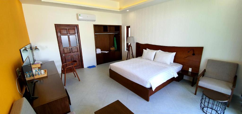 Phòng có Giường cỡ King Nhìn ra Vườn