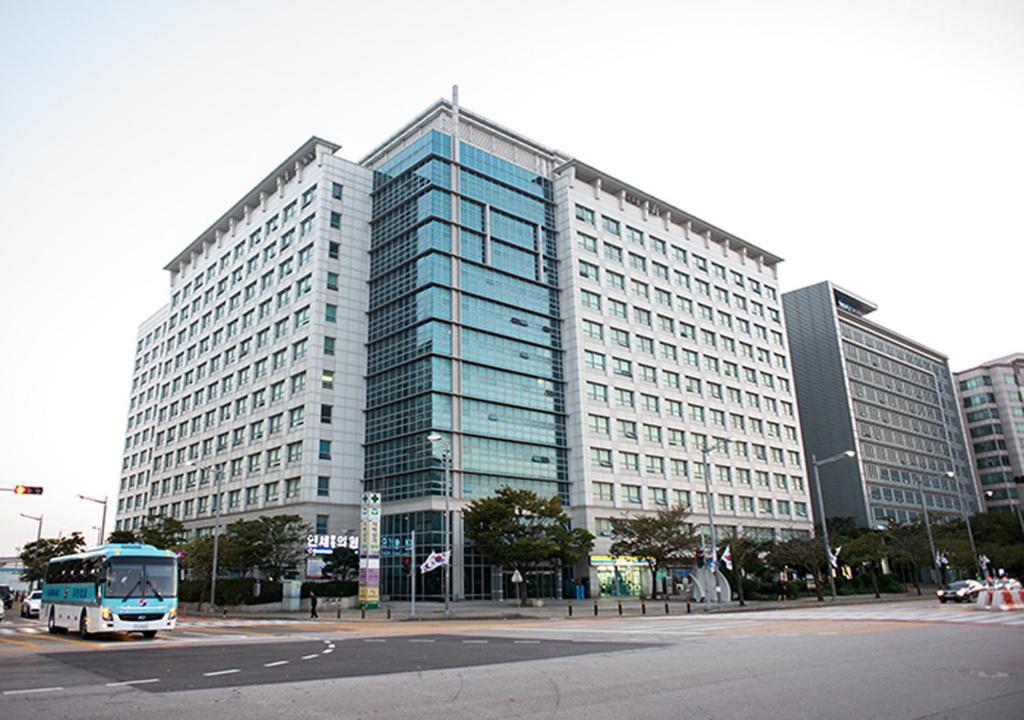 Incheon Airport Capsule Hotel Goodstay Inn.