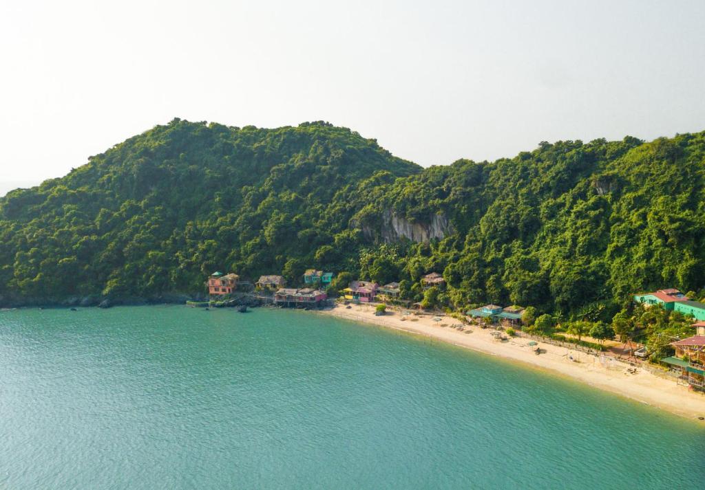 Private Beach Island Backpackers