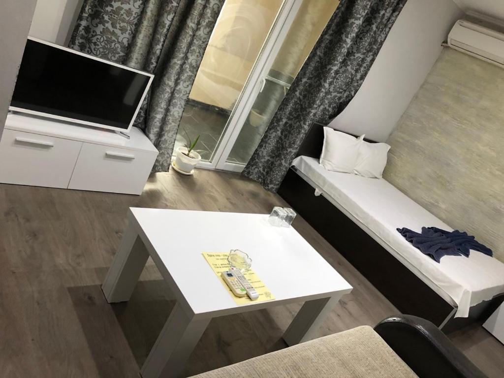 En TV eller et underholdningssystem på Burgas