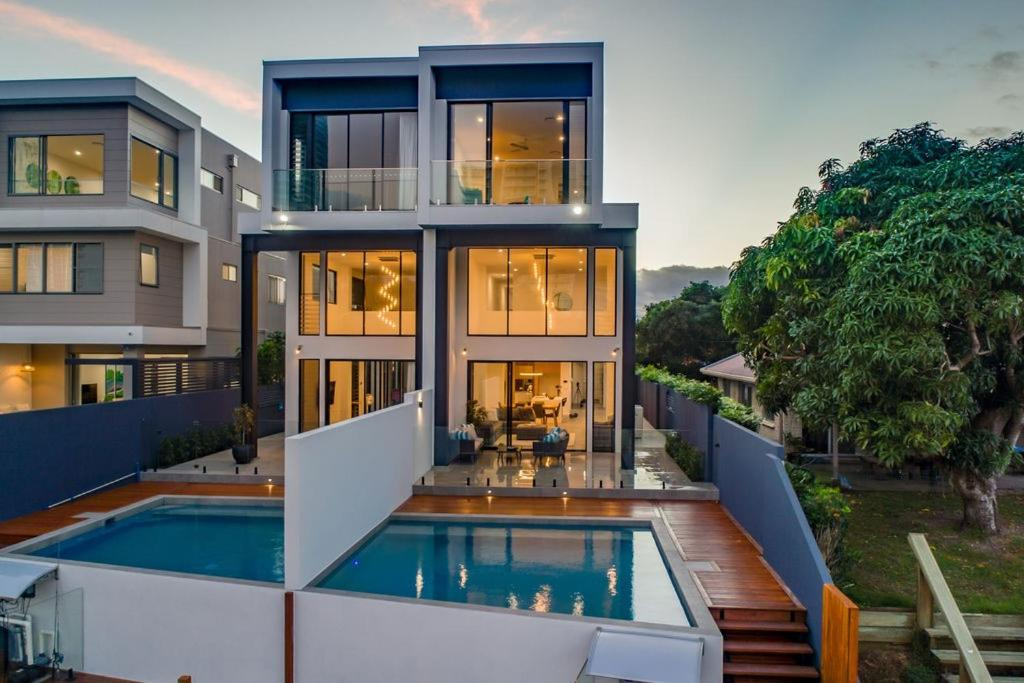 The swimming pool at or near Surfers Paradise Luxury Bedroom +Private Bathroom
