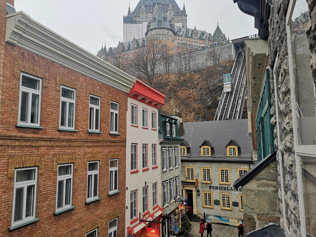 Quebec připojení stránky