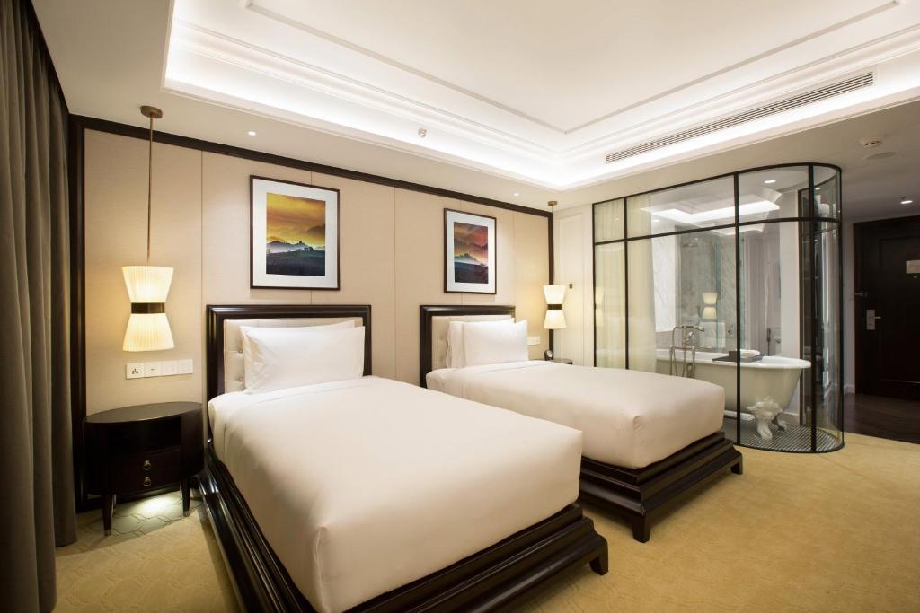 Phòng Premium 2 Giường Đơn - Minibar Miễn Phí