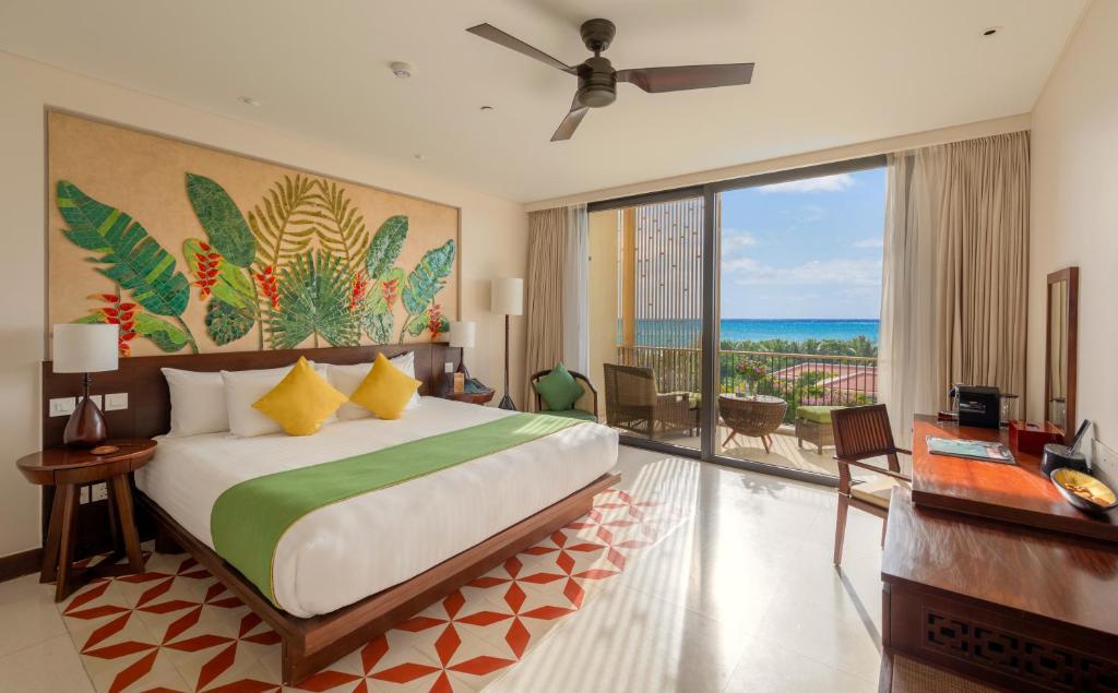 Phòng Deluxe Premium Giường Đôi/2 Giường Đơn Nhìn Ra Biển