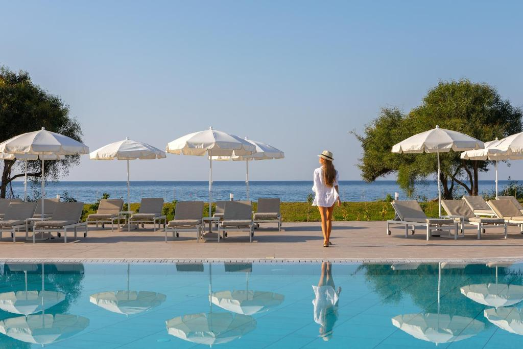 The swimming pool at or near Louis Ivi Mare