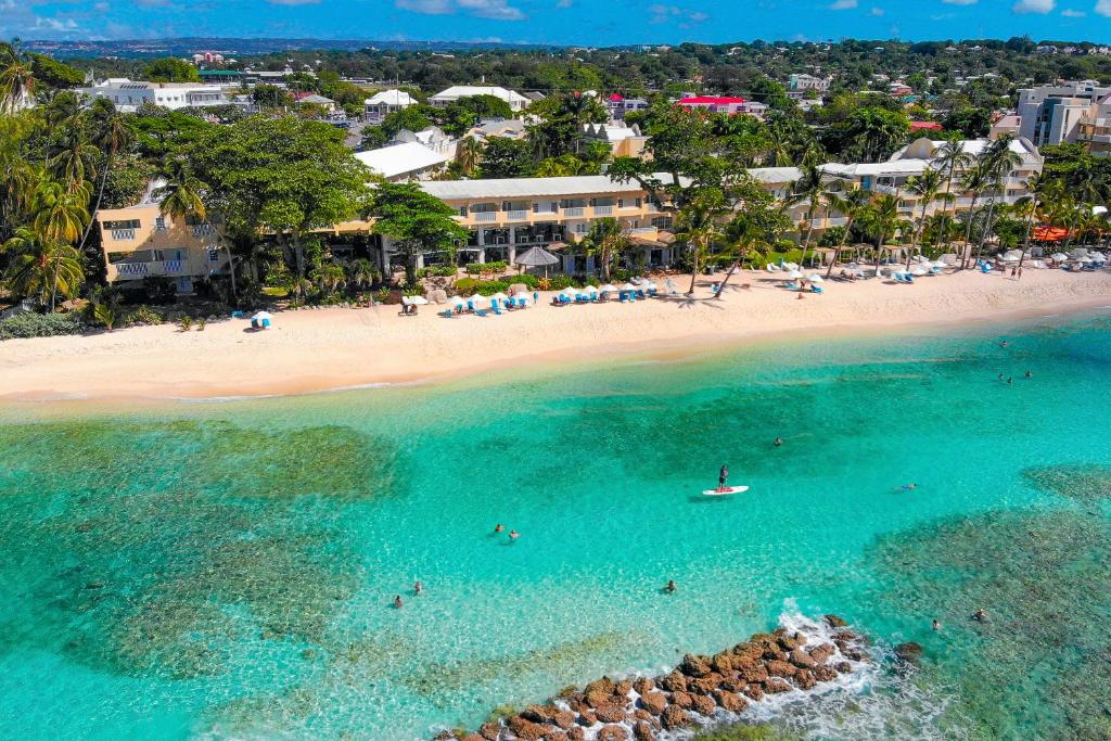 A bird's-eye view of Sugar Bay Barbados - All Inclusive