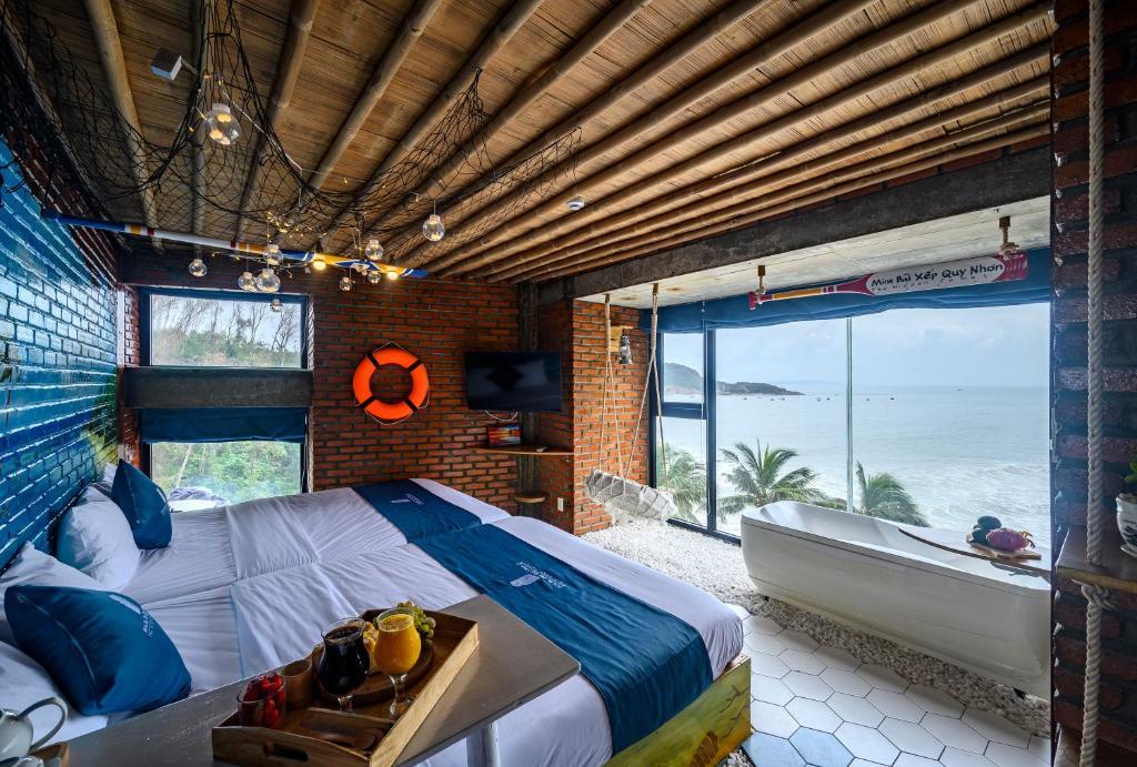 Phòng 4 Người Nhìn Ra Biển