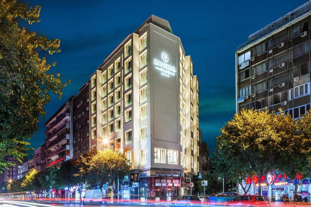 Ad Imperial Plus Hotel Thessaloniki 8essalonikh Enhmerwmenes