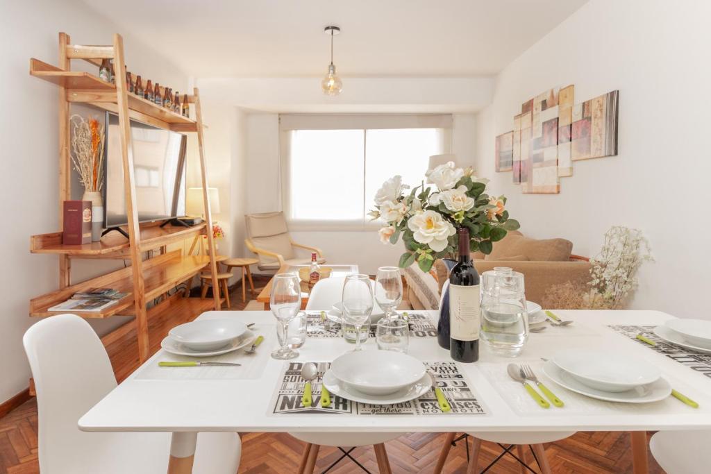 Un restaurant u otro lugar para comer en Tu Apart En Bariloche 2