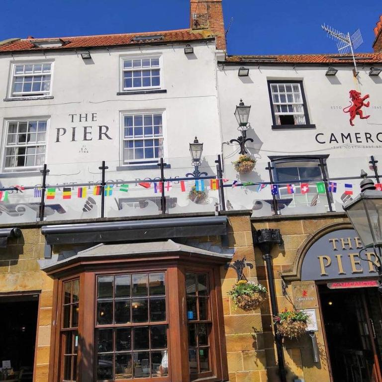 The Pier Inn in Whitby, North Yorkshire, England