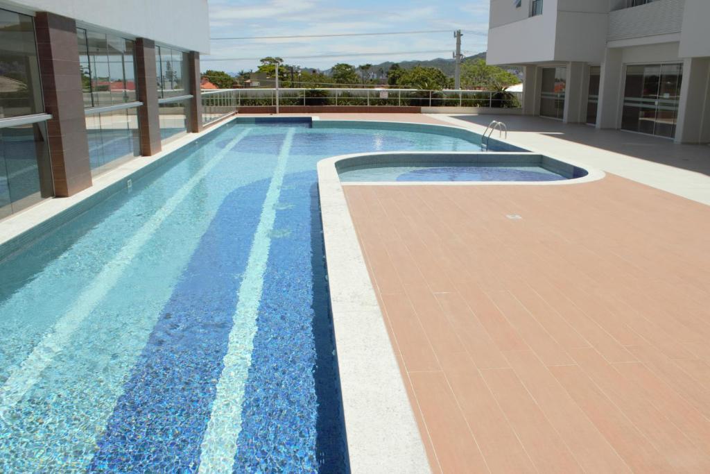 The swimming pool at or close to Veneza apartment
