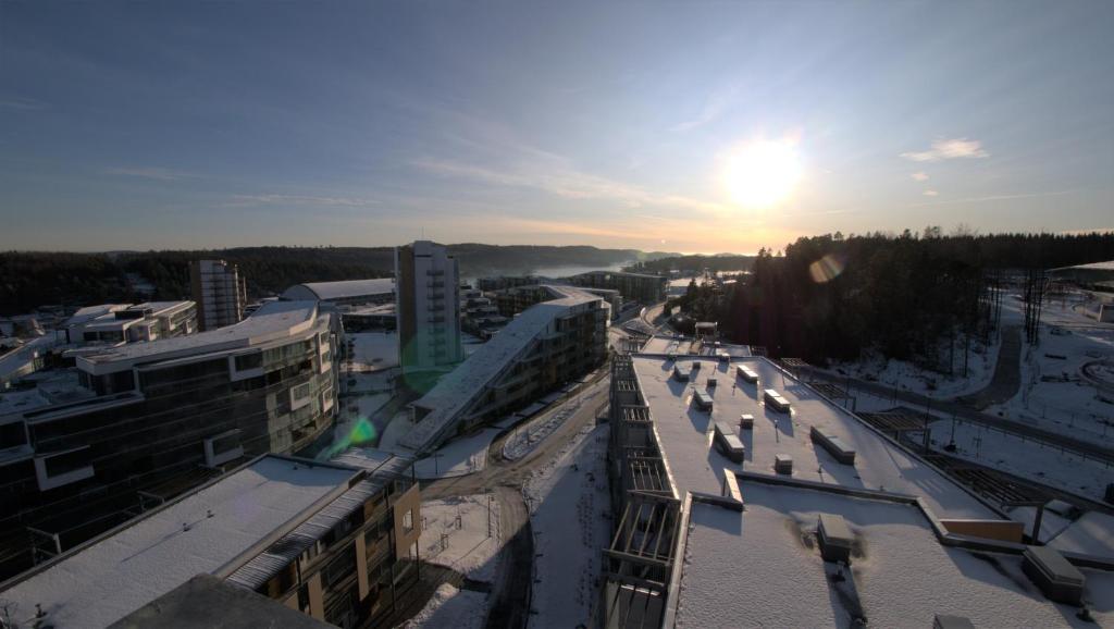 Oslofjord Hotel sett ovenfra