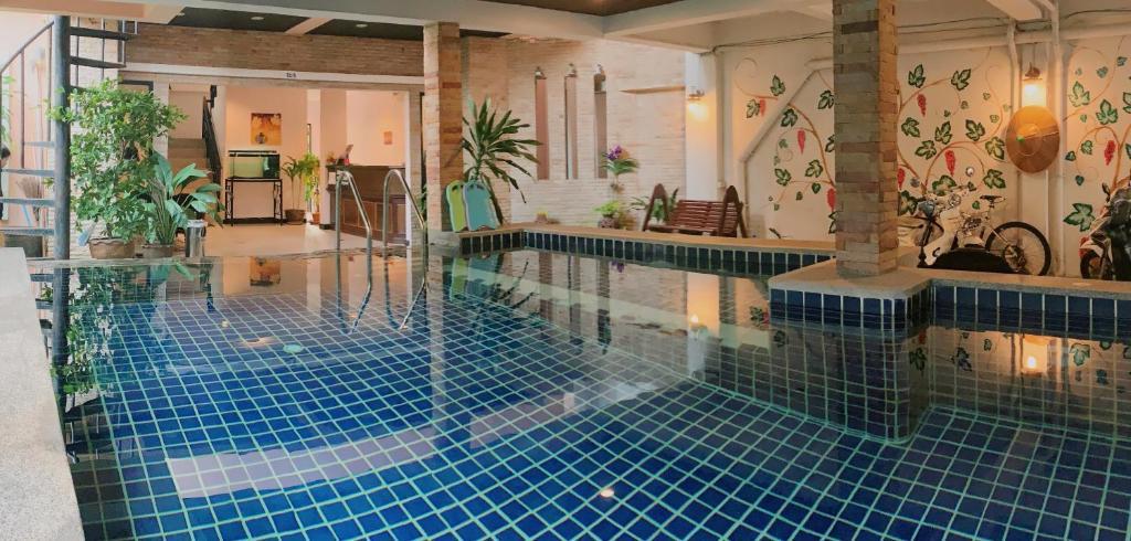 The swimming pool at or near Ice Kamala Beach Hotel