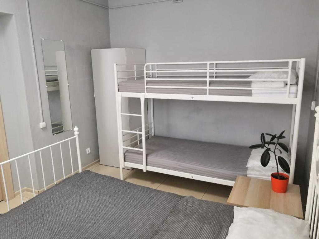 A bunk bed or bunk beds in a room at Mini Hotel by Riviera