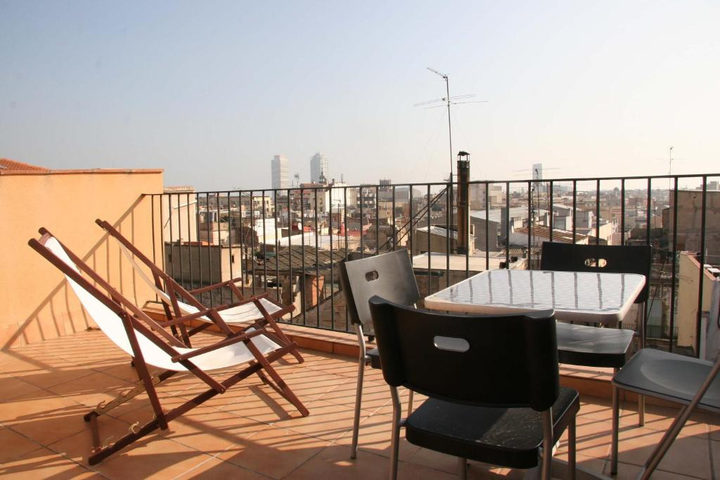 A balcony or terrace at Apartments HHB