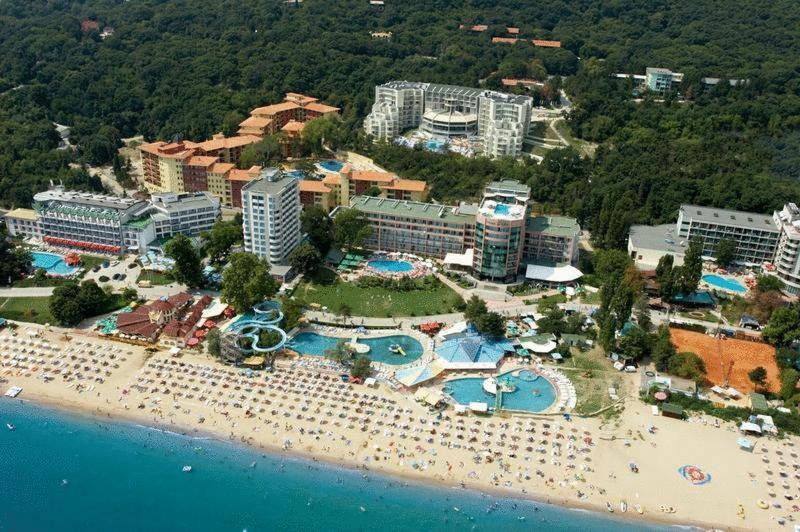 A bird's-eye view of Parkhotel Golden Beach - All inclusive