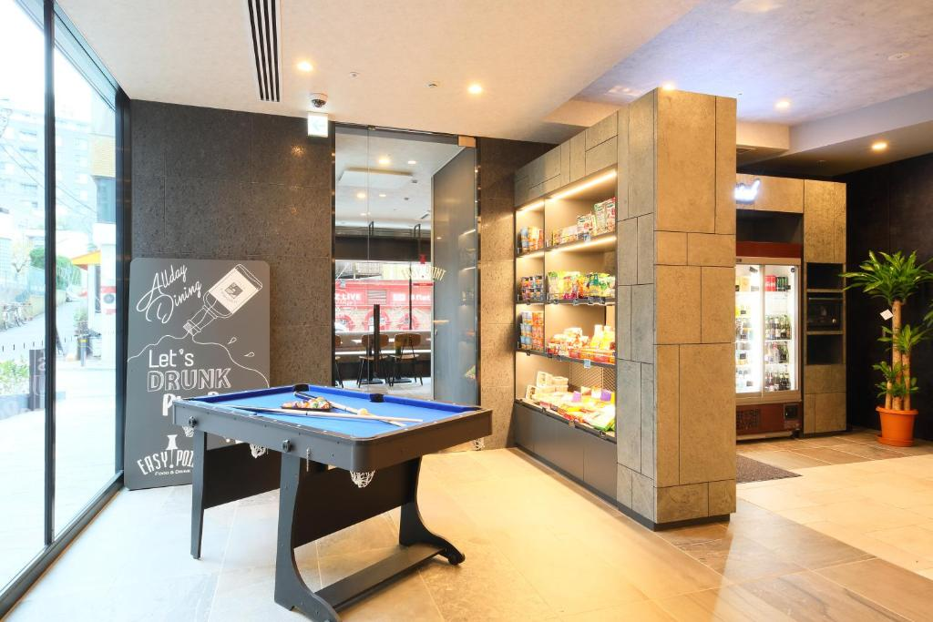 Ping-pong facilities at ICI HOTEL Akasaka by RELIEF or nearby