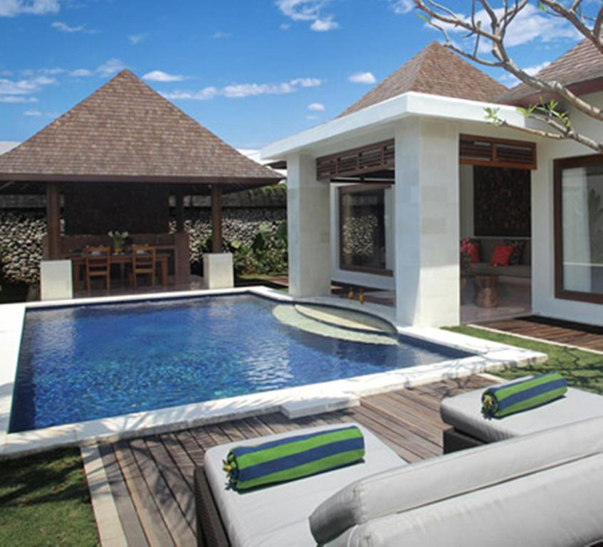 The swimming pool at or near The Haere Seminyak