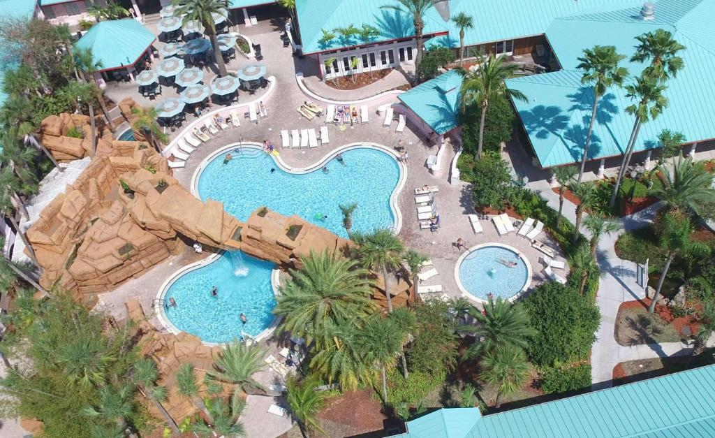 A bird's-eye view of Radisson Resort at the Port