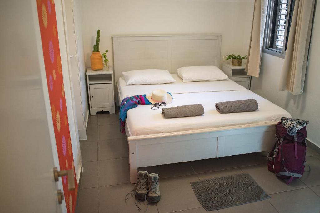 Postel nebo postele na pokoji v ubytování Florentine Backpackers Hostel - ages 18-55