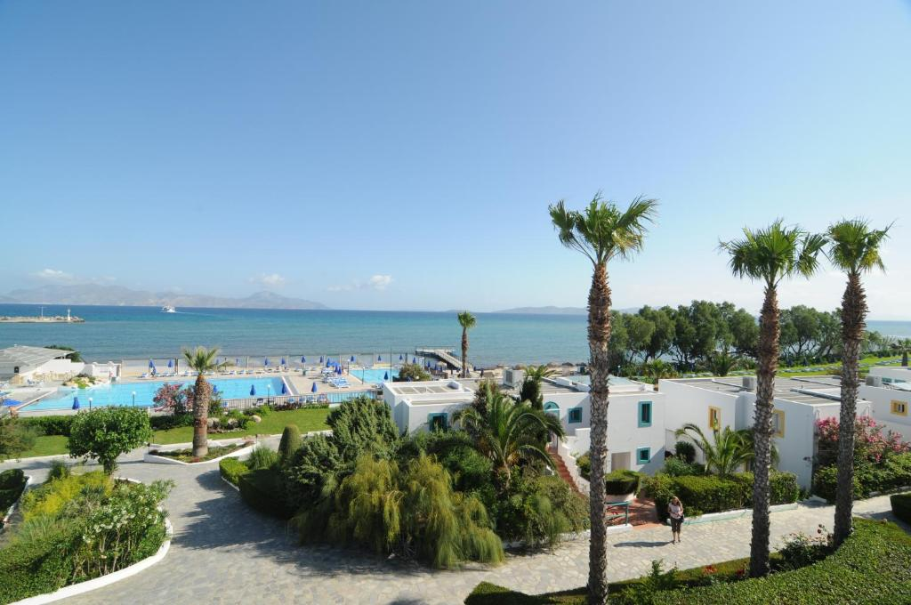 A view of the pool at Mastichari Bay Hotel or nearby