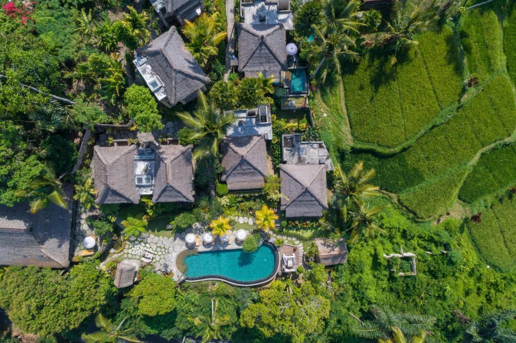 A bird's-eye view of Puri Gangga Resort Ubud