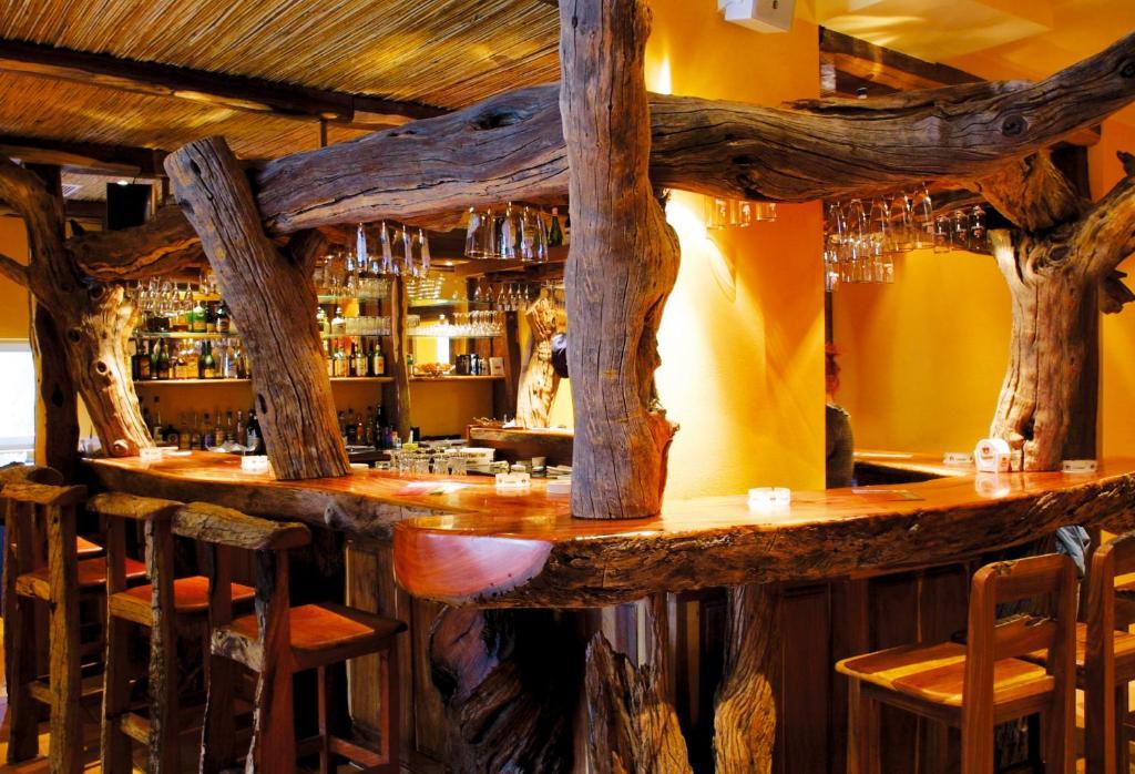 Lounge oder Bar in der Unterkunft Hotel Hottentotten