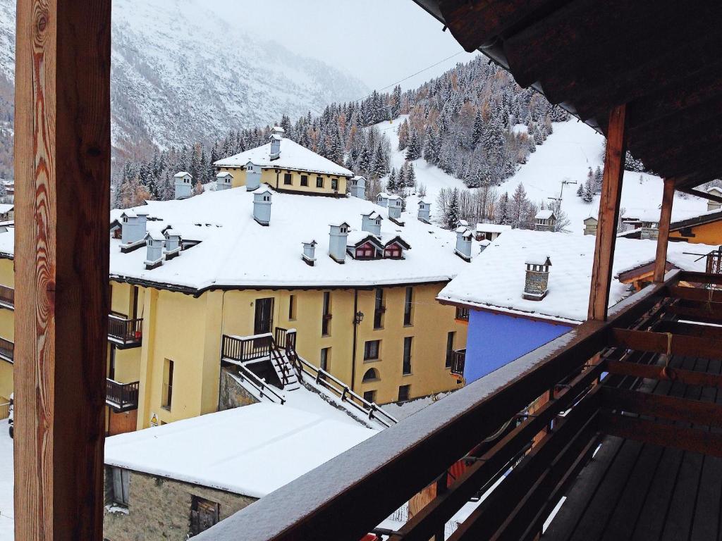 Hotel Rolland durante l'inverno