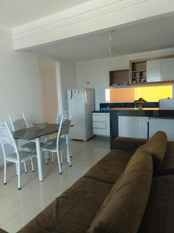 Zona de estar de Apartamento a 350m da Orla de Atalaia