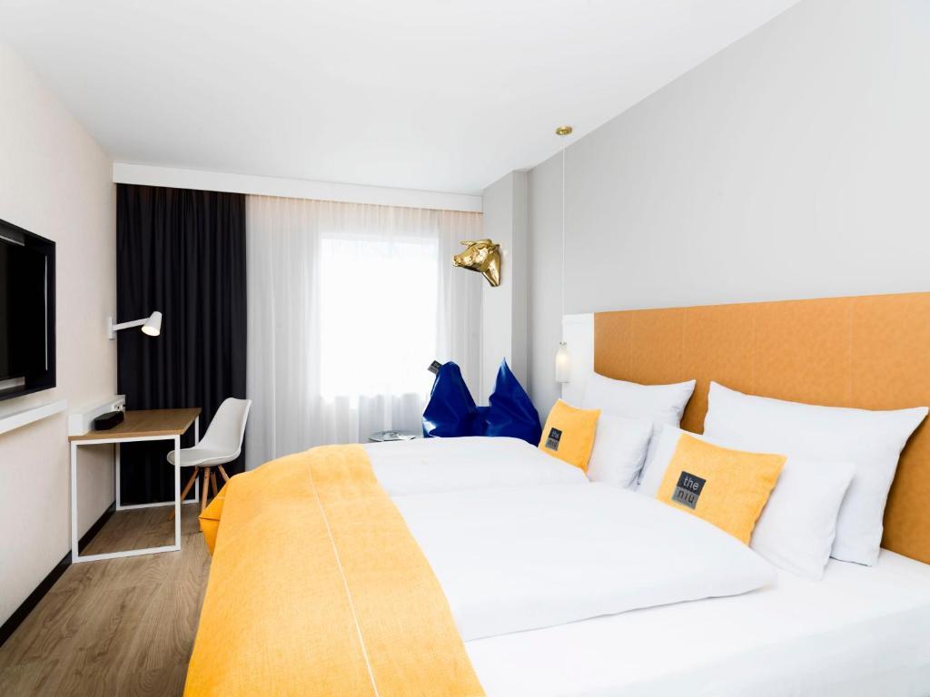 Cama o camas de una habitación en the niu Dairy