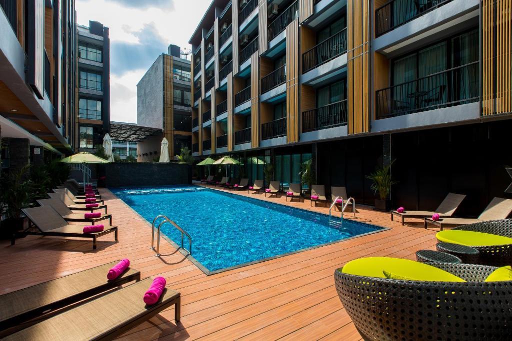 The swimming pool at or near GLOW Ao Nang Krabi