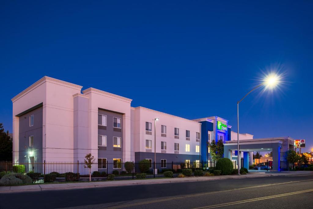 Holiday Inn Express Stockton Southeast.
