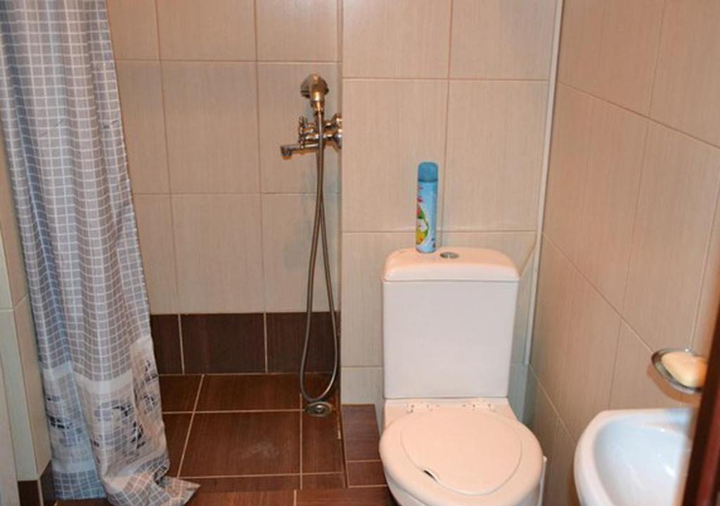 Ванная комната в Hostel UFO