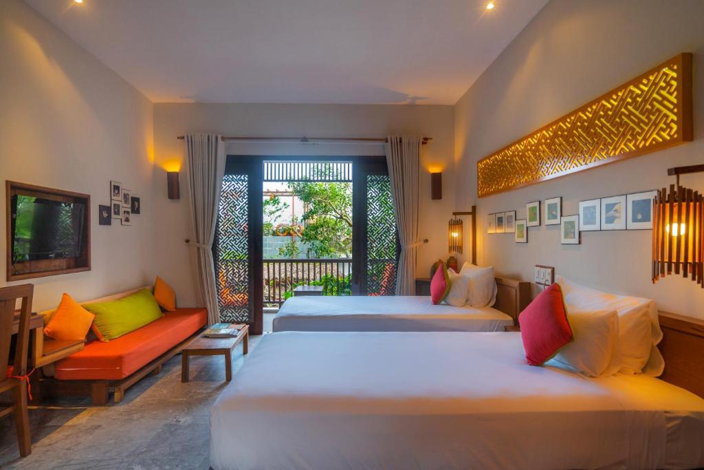 Suite Giường Đôi hoặc Suite 2 Giường Đơn
