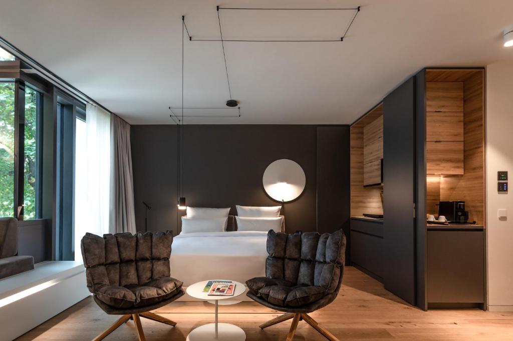 Zona d'estar a KPM Hotel & Residences