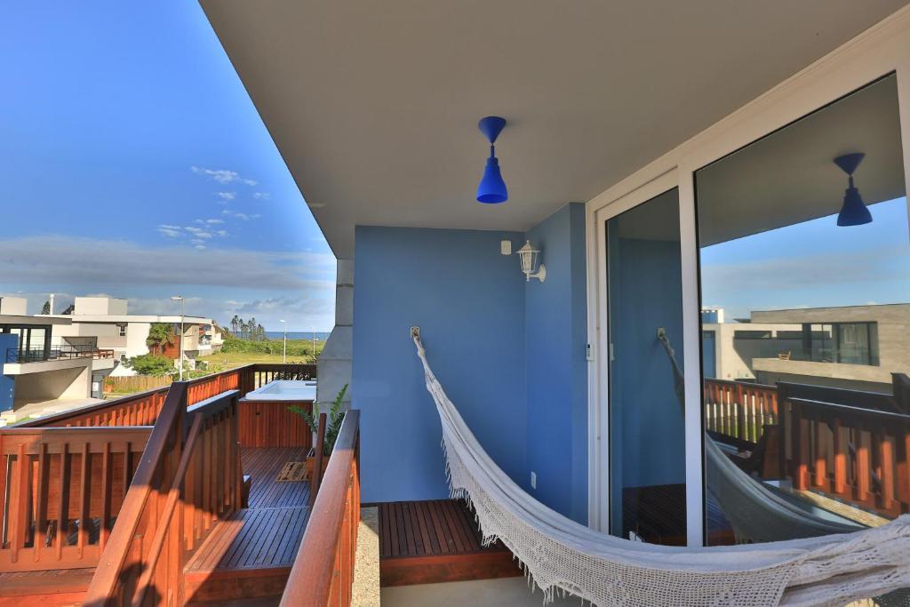 Un balcón o terraza de Morada do Mar 2 - Pé na Areia