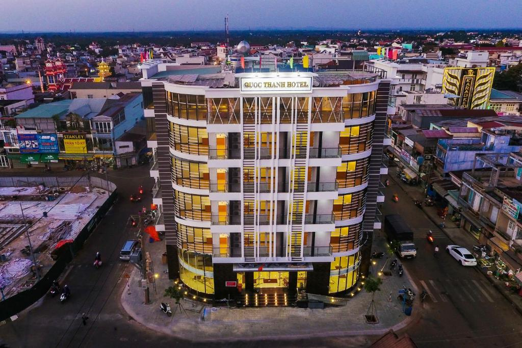 A bird's-eye view of Quốc Thanh Hotel