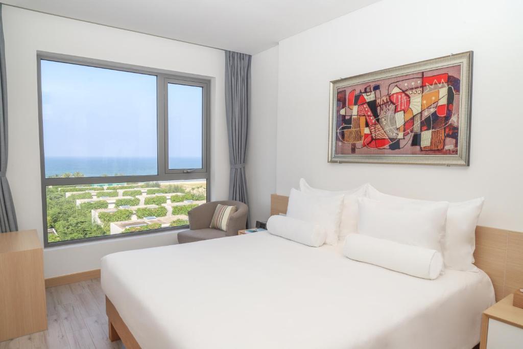 Suite 1 Phòng Ngủ Nhìn Ra Biển - Dịch Vụ Đưa Đón Sân Bay Miễn Phí