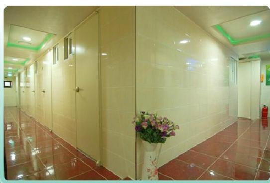 ห้องน้ำของ 하이리빙텔 대림동