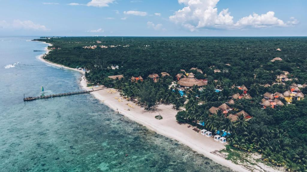 A bird's-eye view of Iberostar Cozumel All Inclusive