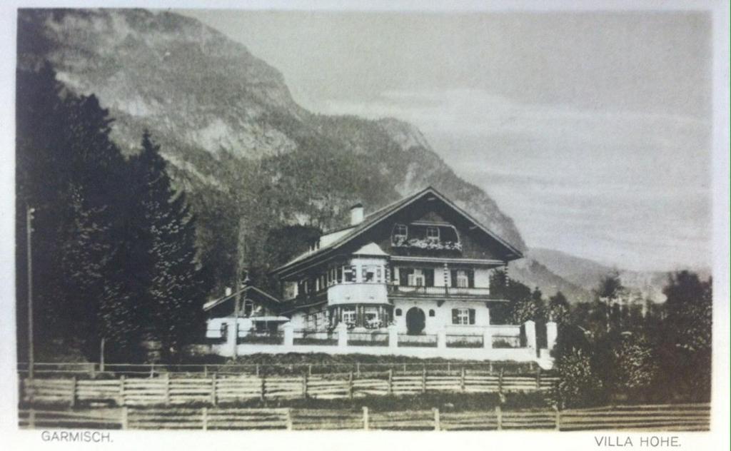 Gästehaus Hohe Tannen im Winter