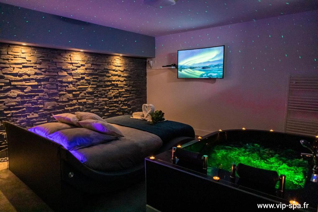 Apartment Suite Boreale 50m2 Spa Privatif Nancy France