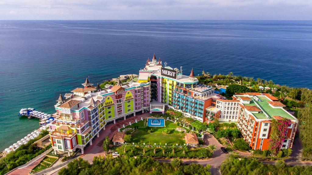 A bird's-eye view of Merit Crystal Cove Hotel Casino & SPA
