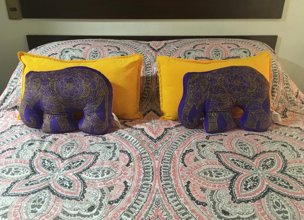 Cama o camas de una habitación en La cocotte du Chili