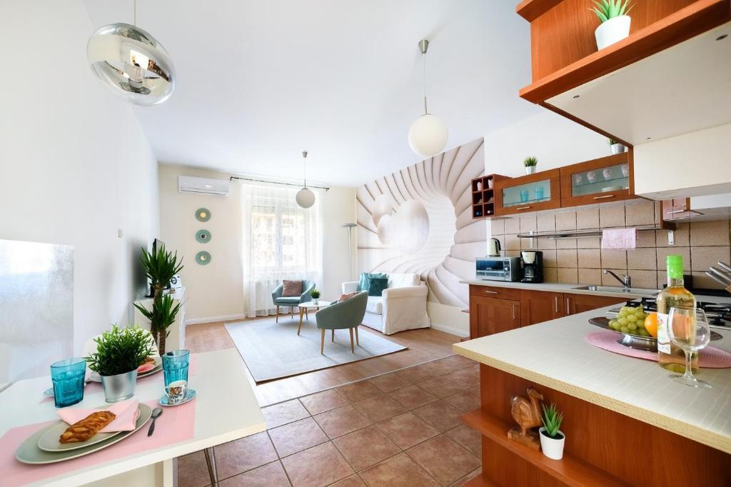 Lobby/Rezeption in der Unterkunft Váci170 Apartman