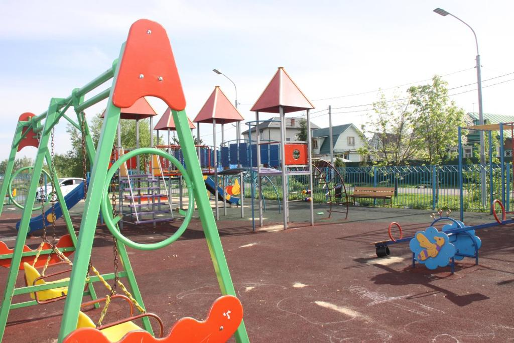 Children's play area at Hotel GH AurorA Domodedovo
