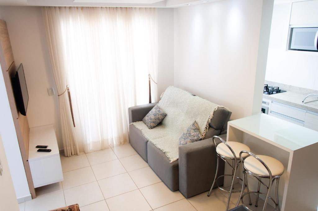 Zona de estar de Residencial Porto Caravelas